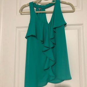 Green racer Back Dress Tank!